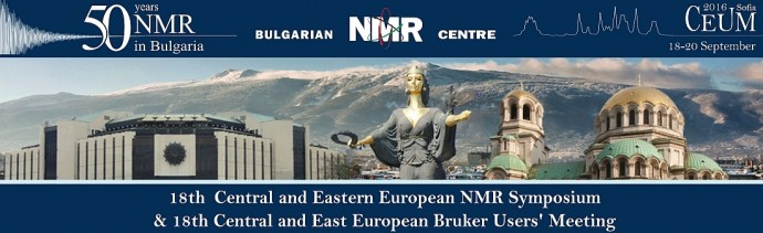 18th Central and Eastern European NMR Symposium & Bruker Users' Meeting