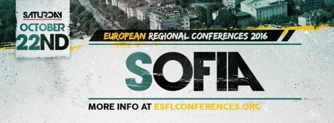 ESFL 2016 Sofia Regional Conference