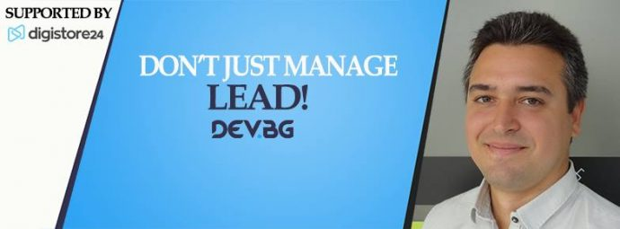 Don't just manage – Lead!
