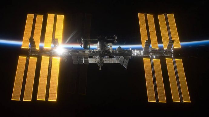 "Лекция ""Международната космическа станция"""