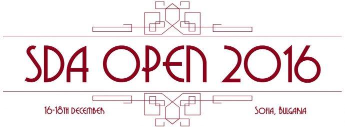 SDA Open 2016