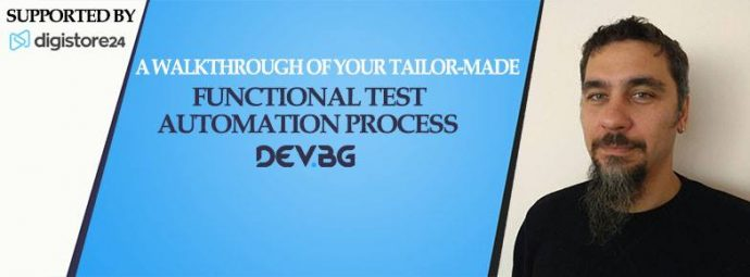 """Семинар """"A walkthrough of your tailor-made Functional Test Automation"""""""