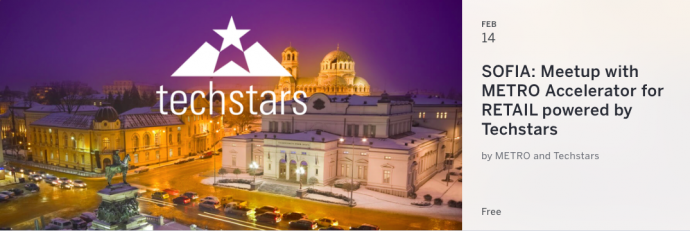 SOFIA: Meetup with METRO Accelerator for RETAIL powered by Techstars