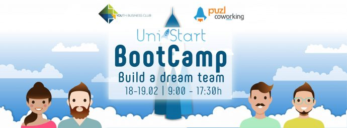 UniStart Bootcamp: Find a co-founder, Build a dream team