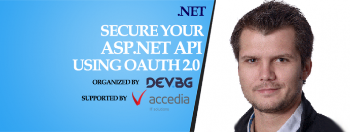 "Семинар ""Secure your ASP.NET API using OAuth 2.0"""