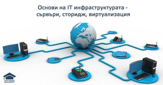 """Семинар """"Основи на ИТ инфраструктурата – сървъри, сторидж, виртуализация"""""""