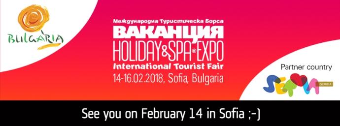 """35-то издание на Международната туристическа борса """"Ваканция и СПА Експо"""""""