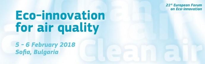 'Eco-innovation for air quality' Forum