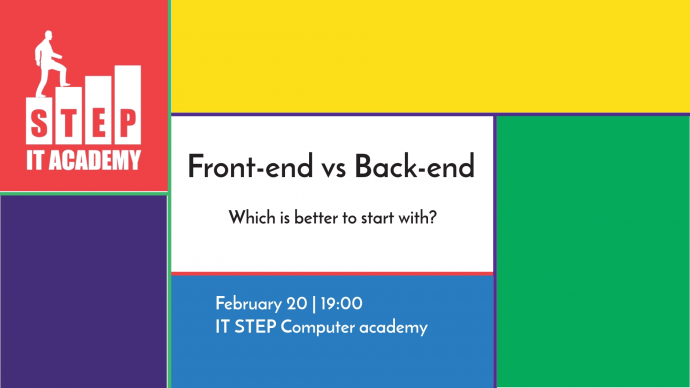 Front-end vs. Back-end Lecture