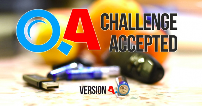 QA: CHALLENGE ACCEPTED 4.0