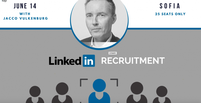 "Събитие ""Linkedin Recruitment"" с Яко Валкенбург"