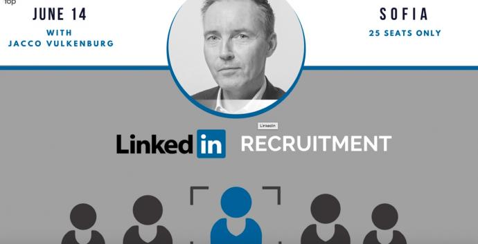 "Събитие ""Linkedin Recruitmen"" с Яко Валкенбург"