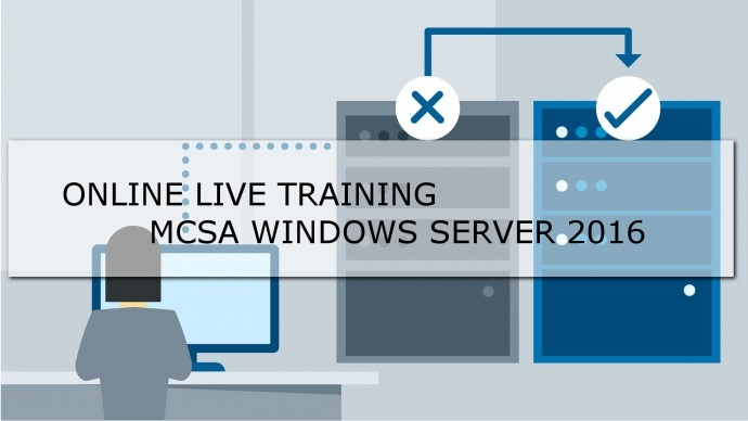 Онлайн Live Microsoft Official Course 70-740 Installation, Storage and Compute with Windows Server 2016