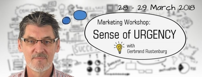 Marketing workshop Competitive Advantage: SENSE OF URGENCY