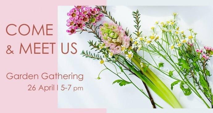 "Събитие ""COME & MEET US   Garden Gathering"""