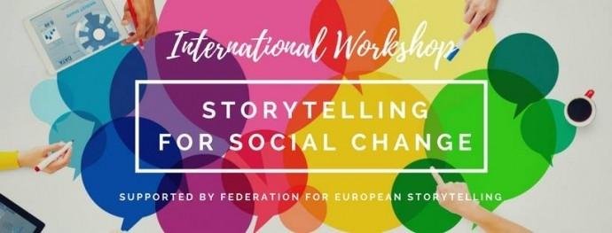 """Workshop """"Storytelling for Social Change"""""""