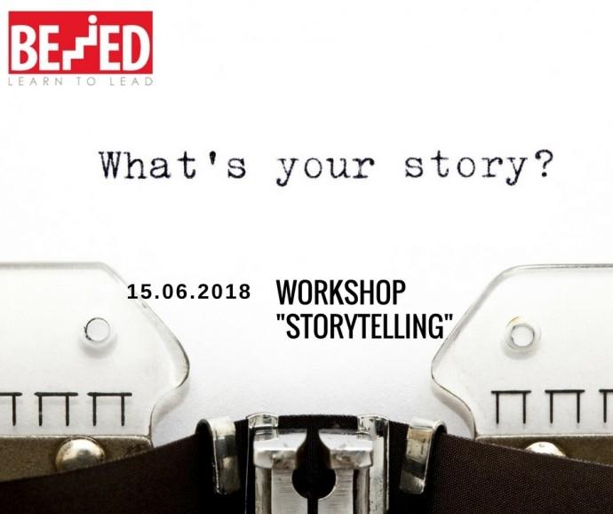 """Storytelling"" Workshop – 3-то издание!"
