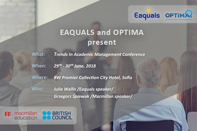 Trends In Academic Management Conference by Eaquals and Optima
