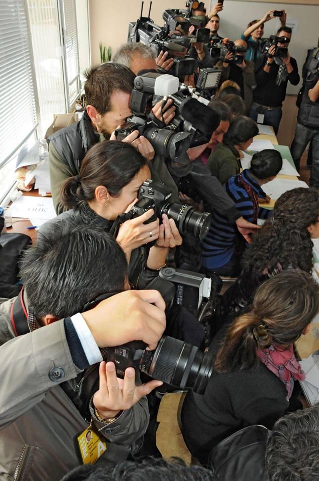 Курс за фоторепортери и прес фотография