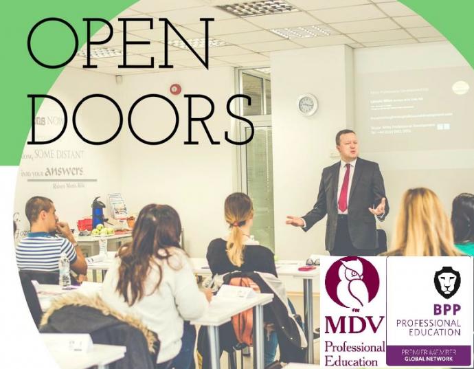 "Информационен ден ""Отворени врати – School of Finance and Accounting for Young Professionals"""