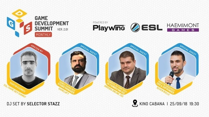 "Събитие ""Gamе Dev Summit Monthly – Season 2"""