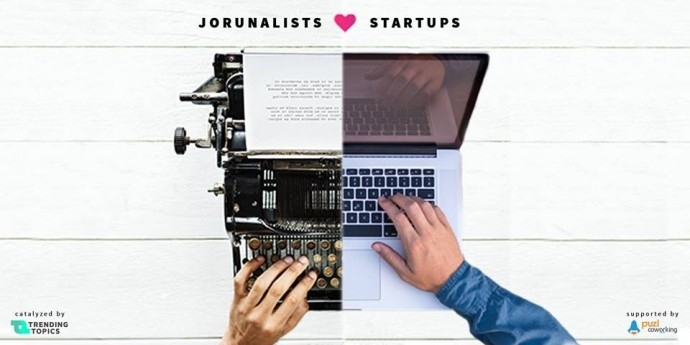 "Събитие ""Journalists ft. Startups"""