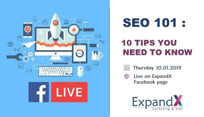 "Събитие ""SEO: 10 Tips for Your Website"""