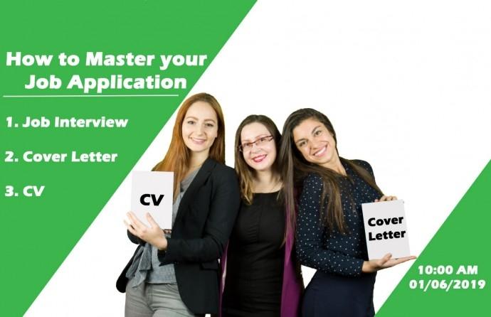 "Обучение ""How to Master your Job Application"""