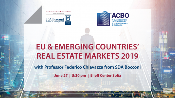 "Презентация ""SDA Bocconi Open Class in EU & Emerging Countries' Real Estate Trends 2019"""