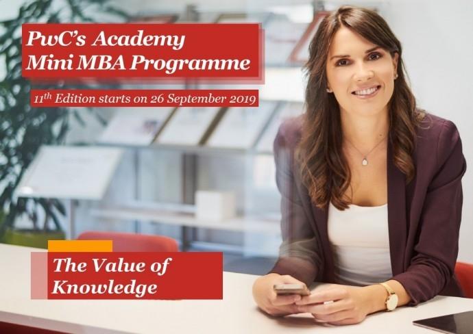 PwC Mini MBA training programme