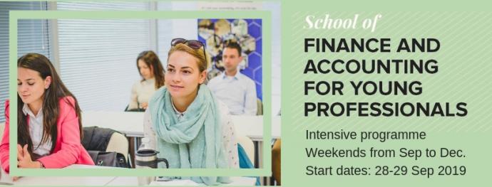 """Обучение """"Финанси и счетоводство за млади професионалисти"""""""
