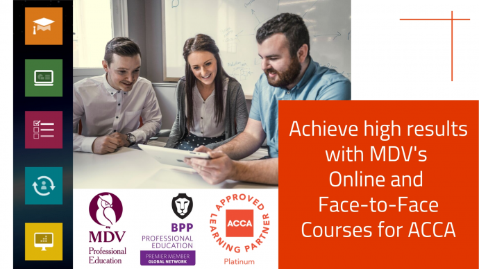 "Обучение ""ACCA Advanced Audit and Assurance Face-to-Face Training with MDV"""