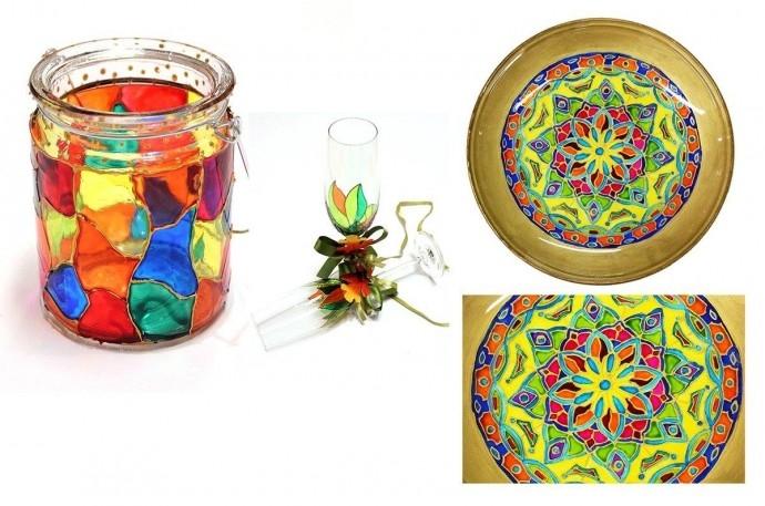 """Работилница """"Рисуване на стъкло"""""""