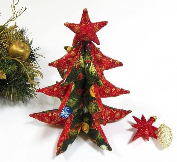 """Работилница """"Шита 3D Коледна елха"""""""
