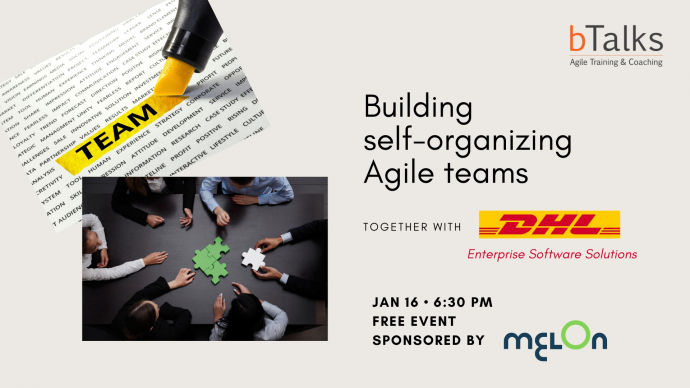 "Лекция ""Self-organizing teams in an enterprise environment – is it possible?"""