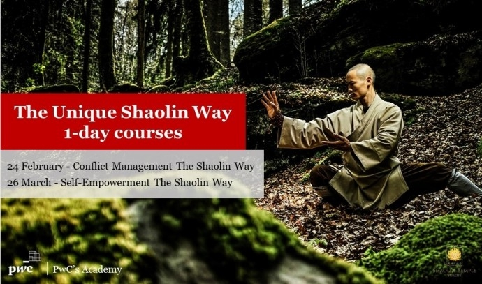 """Тренинг """"The Unique Shaolin Way 1-day courses at PwC's Academy Bulgaria"""""""