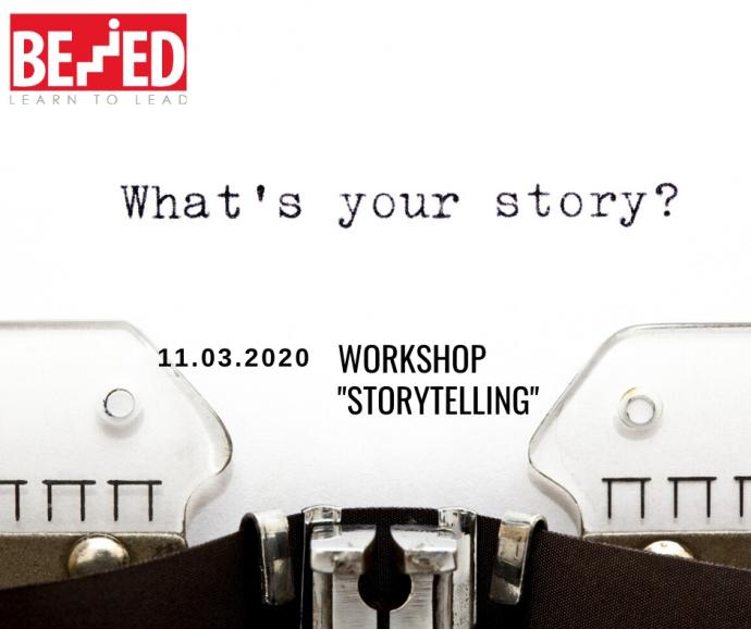 """""""Storytelling"""" Workshop"""