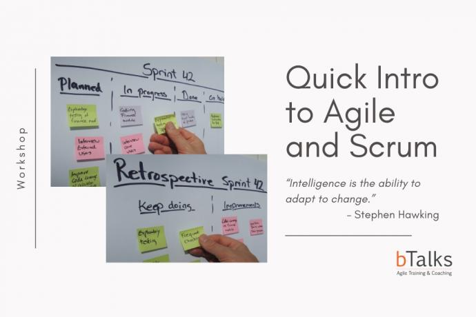 Online – Въведение в Scrum и Agile