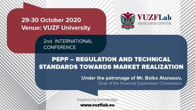 Втора международна конференция за общоевропейския продукт за лично пенсионно осигуряване (PEPP)