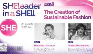 SHEleader in a SHEll, vol.9: The Creation of Sustainable Fashion