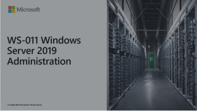 Microsoft Official Course (MOC) Course WS-011T00-A: Windows Server 2019 Administration (5 days)
