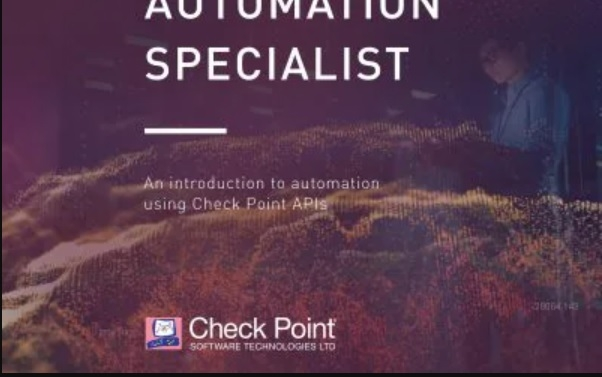 Check Point Automation Specialist (CCAS)